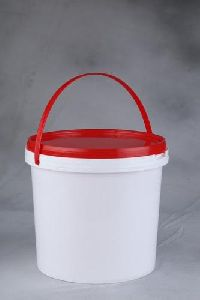 plastic bucket container