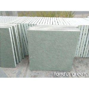 Unpolished Tandur Green Stone
