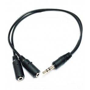 Stereo Jack Splitter Cable