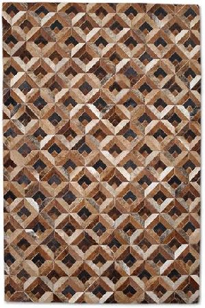 Patch Work Leather Carpets 06