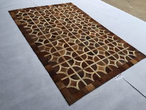 Patch Work Leather Carpets 10