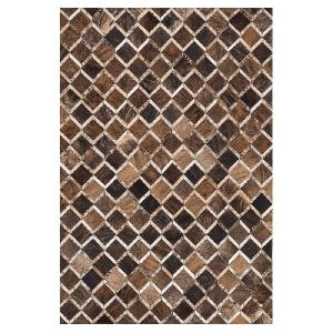 Patch Work Leather Carpets 20