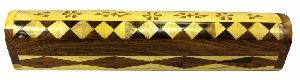 NRWC-15007 Sheesham Wood Incense Coffin Burner Box