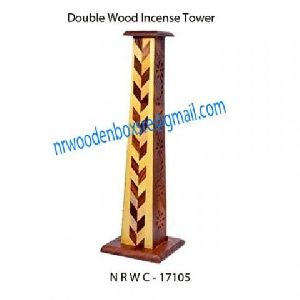 NRWC-17105 Double Wood Incense Tower