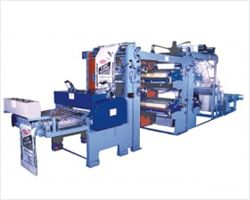 Flexographic Printing, Gusseting Cum Cutting Machine For Woven Bags