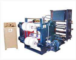 Rewinding Machine with 1 colour Rotogravure Printing attachment