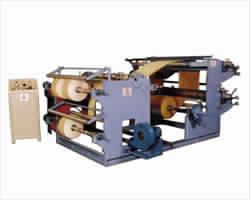 Slitting Rewinding Cum Flexo Printing Machine