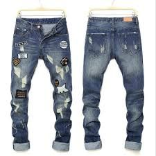 Mens Denim Trousers