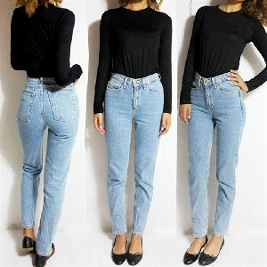 Women Denim Trousers