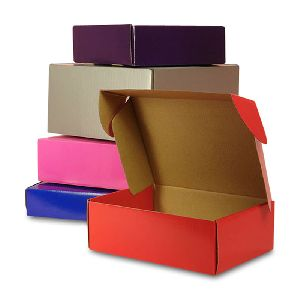 Colored Corrugated Boxes