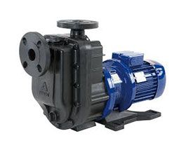 Self-priming magnetic drive pumps