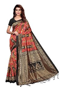 Casual Cotton Fancy Saree