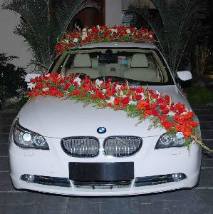 Wedding Car Decoration Services