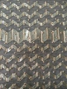 Polyester Net Pattern Tricot Fabric