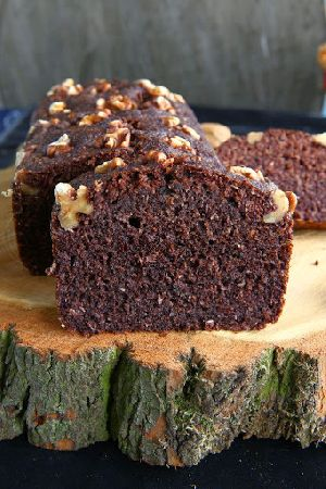 Black Rice Flaxseed Bananan Bread