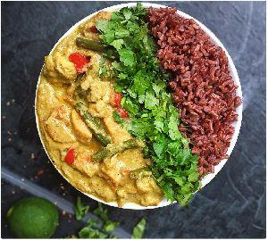 Himalayan Red Rice Food 01