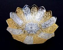 Gold and Silver Plated Bowl