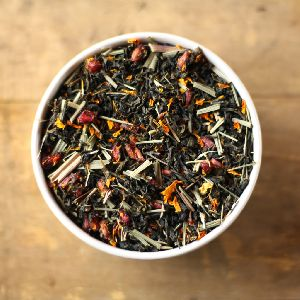 Pomegranate Medley Green Tea