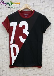 men round neck t-shirt