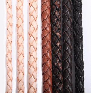 Braided Leather Cord 03