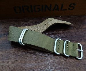 Leather Watch Strap 01