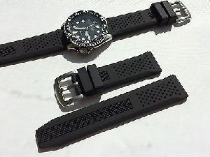 Silicone Rubber Watch Strap 01