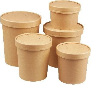 Paper Food Container 02