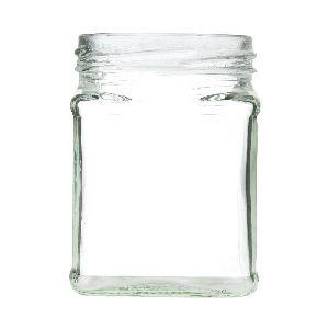 ITC Square Glass Jar
