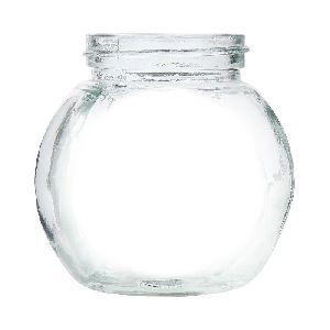 Malaysian Glass Jar