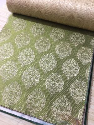 Brocade Plain Fabric 04