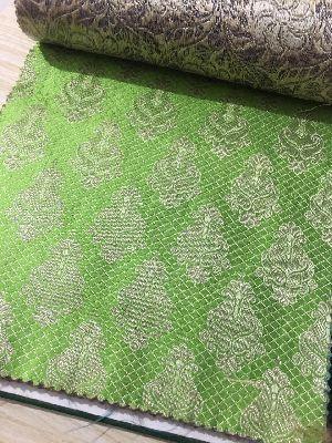 Brocade Plain Fabric 06
