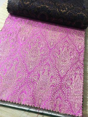 Brocade Plain Fabric 08