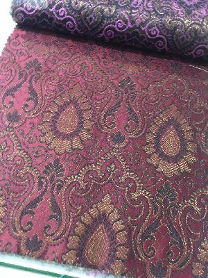 Brocade Plain Fabric 09