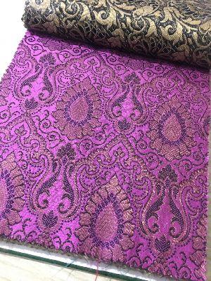 Brocade Plain Fabric 10