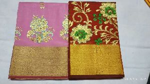 Chanderi Embroidered Sarees 02
