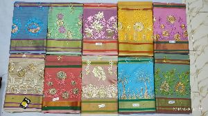 Chanderi Embroidered Sarees 04