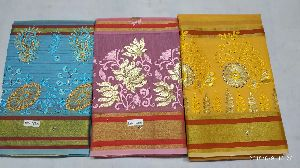 Chanderi Embroidered Sarees 05