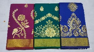 Chanderi Embroidered Sarees 08