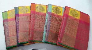 Chanderi Plain Sarees 05