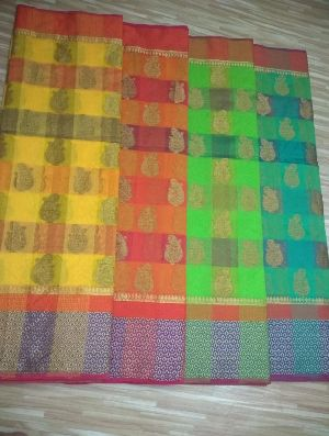 Chanderi Plain Sarees 06