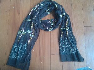 Chiffon Embroidered Stoles 12