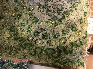 Georgette Embroidered Fabric 03