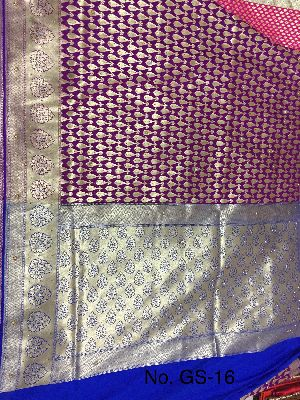 Georgette Embroidered Sarees 04