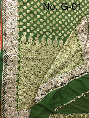 Georgette Embroidered Sarees 07