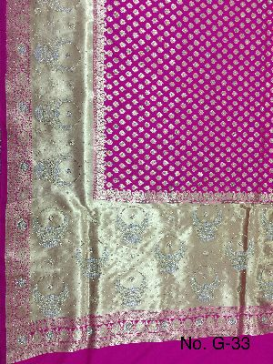 Georgette Embroidered Sarees 08