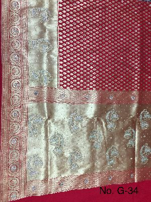 Georgette Embroidered Sarees 09
