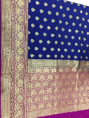 Georgette Embroidered Sarees 10