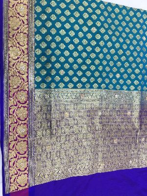 Georgette Embroidered Sarees 11