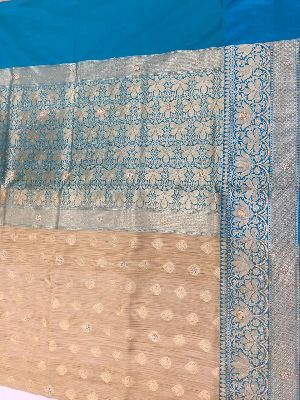 Georgette Embroidered Sarees 12
