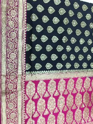 Georgette Embroidered Sarees 13
